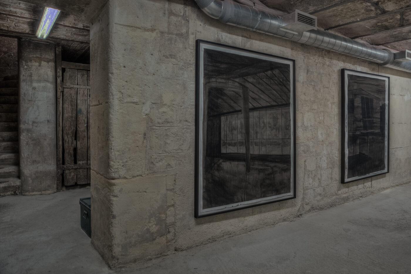 Projection Jeremy Liron dans l'Abri du Patio en septembre 2012