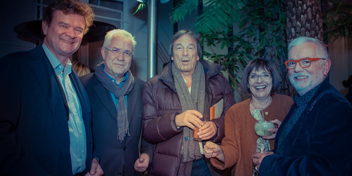 Vernissage Christine Barbe en novembre 2012