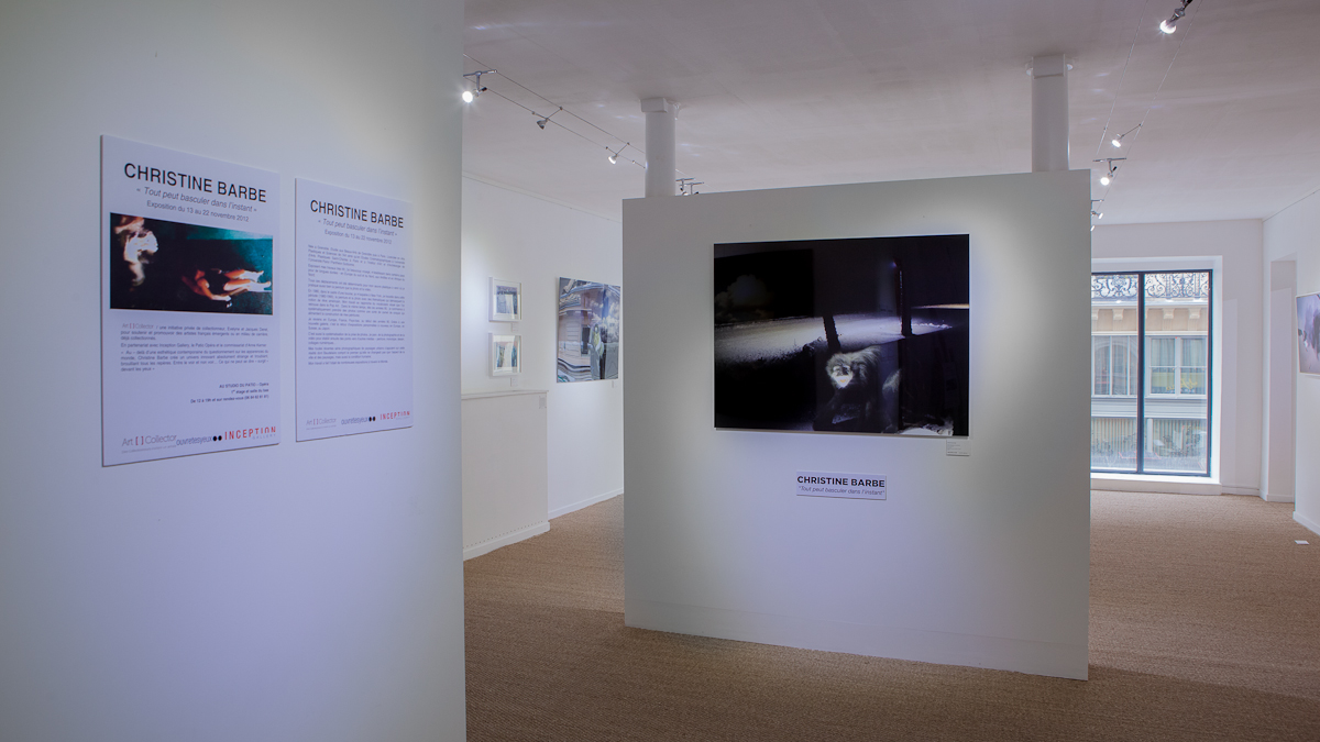 Exposition Christine Barbe au Studio en novembre 2012